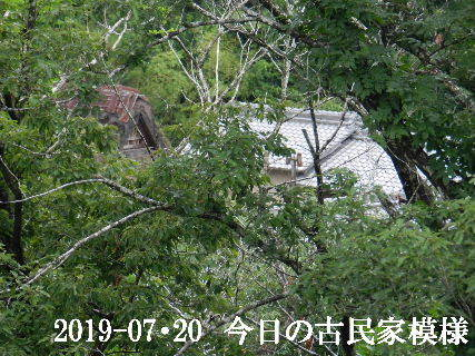 2019-07・20 今日の古民家模様.JPG