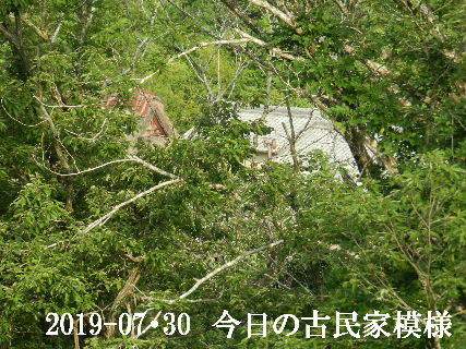 2019-07・30 今日の古民家模様.JPG