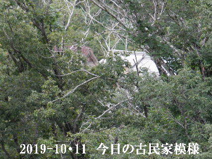 2019-10・11 今日の古民家模様.JPG